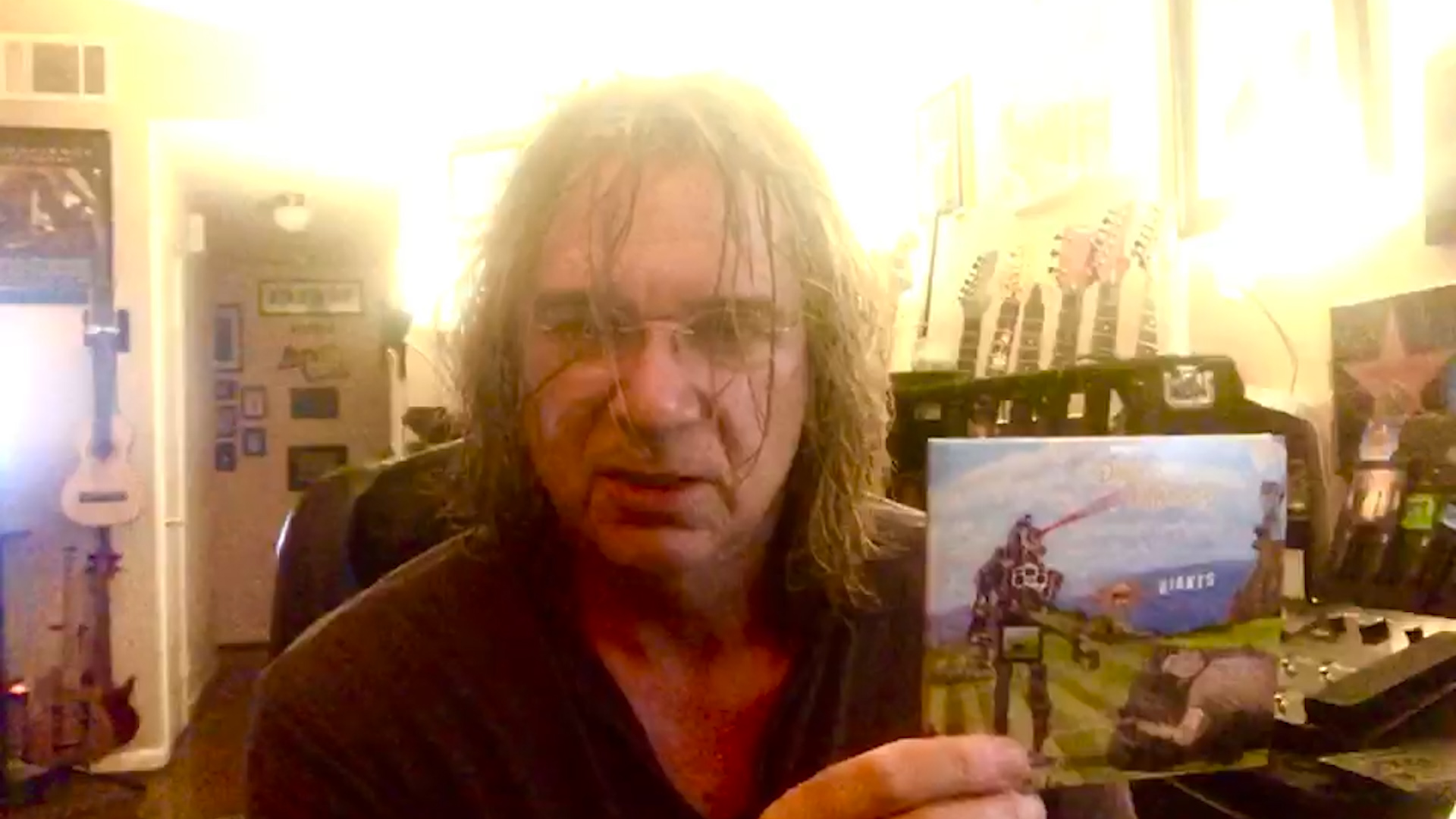 Billy Sherwood of YES talks about the new album GIANTS from Days Between Stations