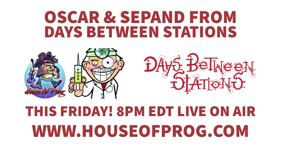 Join Us Live On Air This Friday!