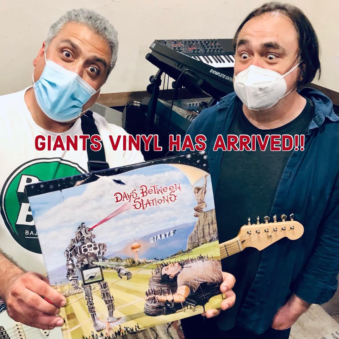 GIANTS Vinyl Has Arrived!