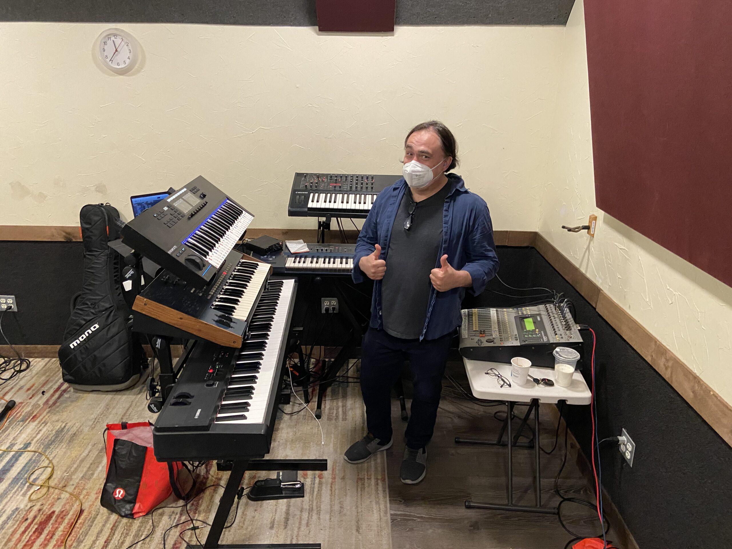 Video: Sepand & Oscar at Rehearsal